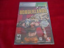BORDERLANDS PLATINUM HITS XBOX 360 FACTORY SEALED!!!  FREE FAST SHIP!!!!!