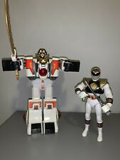 Bandai Power Rangers White Tigerzord , White Power Ranger