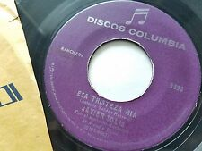 "JAVIER SOLIS - Esa Tristeza Mia / No Te Vayas 60's LATIN RANCHERA Mariachi 7"""