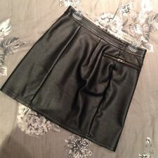 New Look Leather Party Skirts for Women