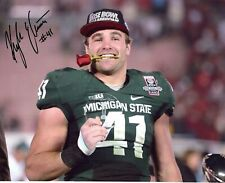 Kyler Elsworth Michigan State Spartans hand autograph signed 8x10 ROSE BOWL MVP!