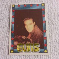 1978 Monty Gum - ELVIS PRESLEY - Club Card From Holland - (Blank Back) - Card 15