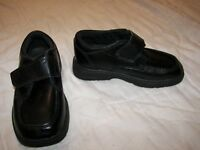 Boys Sperry Top Sider Miles Black Leather Shoes - 8.5M