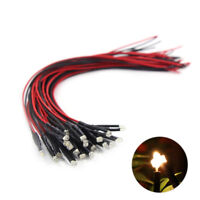 20pcs Pre Wired 1.8mm Warm White Led Light Set with 20cm Wire 12V L1218WM