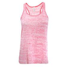 T-shirt, maglie e camicie da donna senza maniche rosso basici