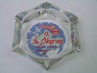 Vintage The Skyway Restaurant San Francisco CA. Airport Glass Ashtray