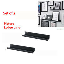 "IKEA 2 Ledges  22"" Wall Shelves MOSSLANDA Ribba Frame Spice Books Plants"
