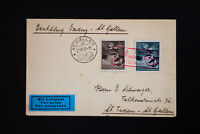 Liechtenstein Rare Registered Cover with 2 Stamps