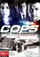 COPS L.A.C The Complete Ch 9 Series (3 Disc ) DVD Set Australian Cop Drama *Rare