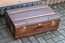 VINTAGE Reisekoffer Koffer Truhe Kasten Couchtisch 70x45x26cm Oldtimer 30er 40er