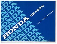 Anleitung Nutzung und Haltung Komplett Regelung Elektrische Anlage Honda CB400N