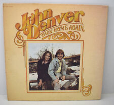 JOHN DENVER BACK HOME AGAIN Disque LP Vinyle 33 Tours RCA USA AFL1-0548-A 1974
