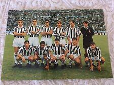 JUVENTUS F.C. CALCIO SQUADRA SCHIERATA ANNI '60