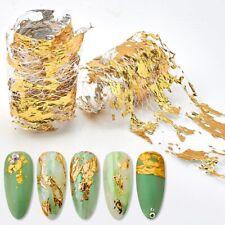 3D Mesh Aluminum Foils Nail Sticker Glitter Line Wraps Slider Nail Art Diy Decor