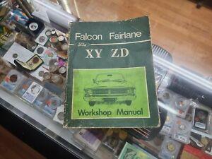 Ford Falcon Fairlane XY/ZD Workshop Manual