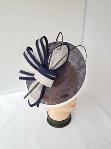 Women's Large Headband Clip Hat Fascinator Weddings Ladies Day Races Royal Ascot