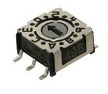 Hartman Switch, Dip, 16, Smd, Hex, (p36s103)