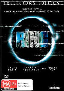 Ring Collector's Edition - Rare DVD Aus Stock New Region 4