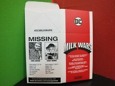 DC Comics Young Animals Milk Wars, Milk Carton Promo