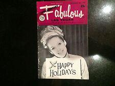 Fabulous Vegas Magazine Sharon Richards Wayne Newton Susan Hayward 12/28/1968