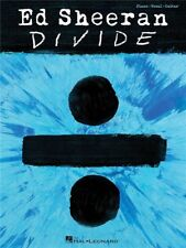 Ed Sheeran ÷ Divide Play Pop Chart Hits Songs Piano Vocal Guitar MUSIC BOOK