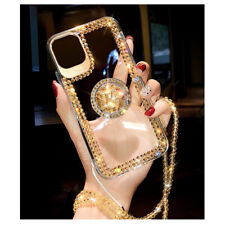 For Samsung Note 20 10 S20 S10 S9 Women's Bling Diamond Ring Crystal Case Cover