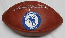 Johnny Unitas Signed Super Bowl XXXV Colts Commemorative Football - PSA/DNA