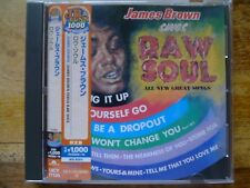 JAMES BROWN SINGS RAW SOUL classic Soul japan Press.UICY 77135 OBI SOLD OUT CD