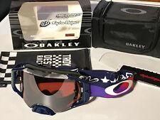 Oakley Airbrake MX Goggle TLD Signature 7046-82 Jet Pattern/prizm MX bl. irid.