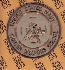 "US Navy Fighter Weapons School TOP GUN Aviation Flight Desert DCU 3"" patch"