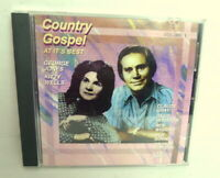 Country Gospel At It's Best George Jones Kitty Wells and More - CD