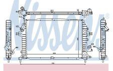 NISSENS Radiador, refrigeración del motor OPEL ASTRA ZAFIRA VAUXHALL 630705