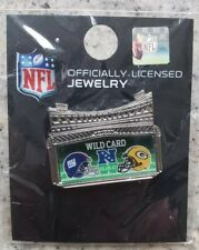 Green Bay Packers vs. New York Giants 1/8/17 NFC Wild Card Game Day Pin