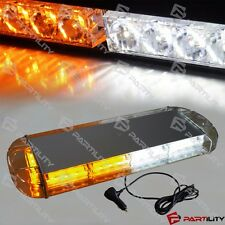 21 inch White Amber Yellow Emergency Warn Hazard Security Strobe LED Light Bar