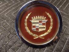 1984 Cadilac Eldorado Wire Wheel Center Cap Gold Crest/Wreath