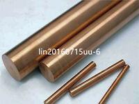"1x C17200 Copper Beryllium Alloy Rod Bar Cylinder Dia. 50mm, Length 150mm / 6"""