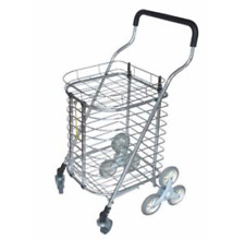Aluminum Market Shopping Cart