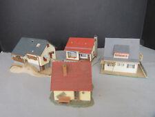 VOLLMER H0 Konvolut Häuser Haus 13202 3714 15149 + Familienhaus aufgebaut V2724