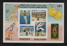 BANGLADESH 524a MNH 1996 LOS ANGELES OLYMPICS SOUVENIR SHEET IMPERFORATE CV $125