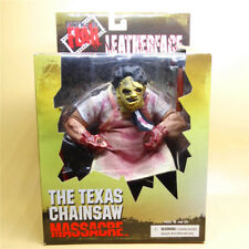 "The Texas Chainsaw Massacre Leatherface Mezco 8"" Action Figure  new in box"