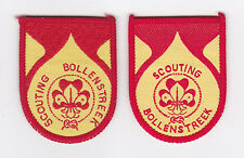 SCOUTS OF HOLLAND - NEDERLAND / DUTCH SCOUT BOLLENSTREEK DIST PATCH (2 VAR) EXT