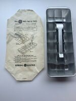 GENERAL ELECTRIC MINI  ICE CUBE TRAY~18 CUBES~NEW~ORIGINAL HOW TO USE PAPER