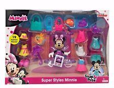 Disney Junior Super Styles Minnie Snap n' Pose 19 Fashion Pieces