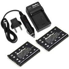 MaximalPower Battery + Charger for KODAK KLIC-7006 EasyShare MD30 Camera (2PK)