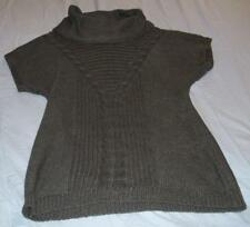 8b899383f Motherhood Cowl Neck Solid Regular Size Maternity Sweaters