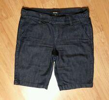 Daisy Fuentes  Dark Wash Denim Bermuda Shorts, Sz 8 **NICE**