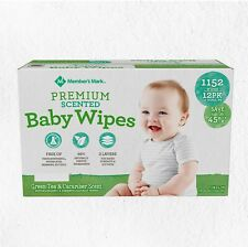 Member's Mark Premium Scented Baby Wipes 1152 ct.