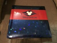 "BRAND NEW DISNEY CRUISE LINE PHOTO ALBUM HTF DESIGN HOLDS 100 4""x6"" PICTURES"