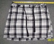 St John's Bay black/white SKORT size 16 shorts/skirt