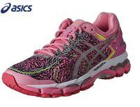 Asics Women Gel Kayano22 LITE SHOW Aurora Pink Running Shoes,Sneakers T5A6Q-1993